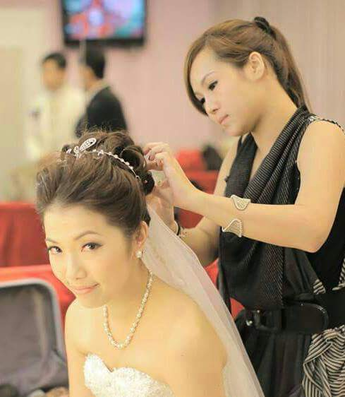 婚禮統籌師Wedding Planner: Carisng makeup